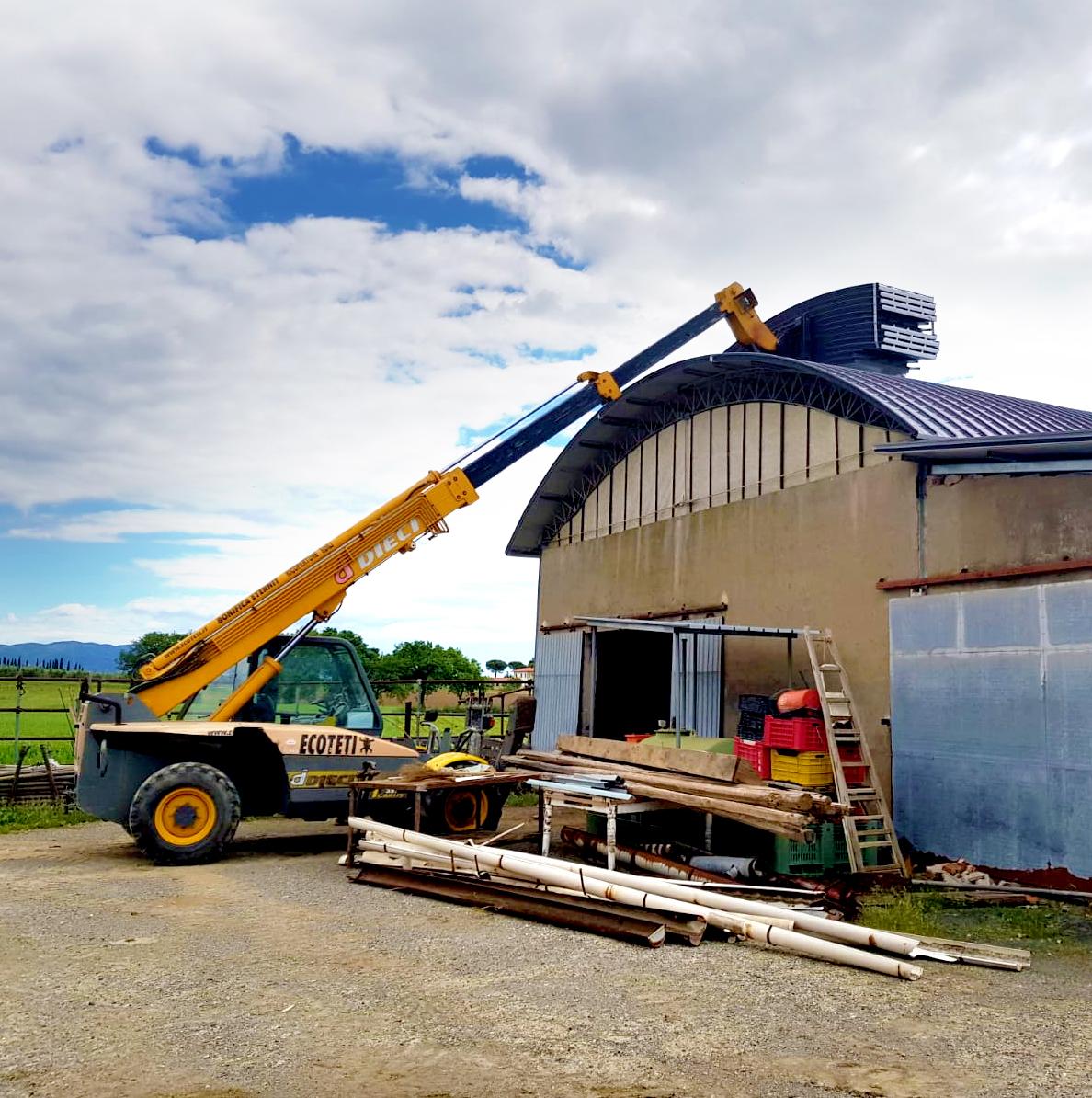 ecoteti srl - smaltimento eternit e montaggio tetti e coperture