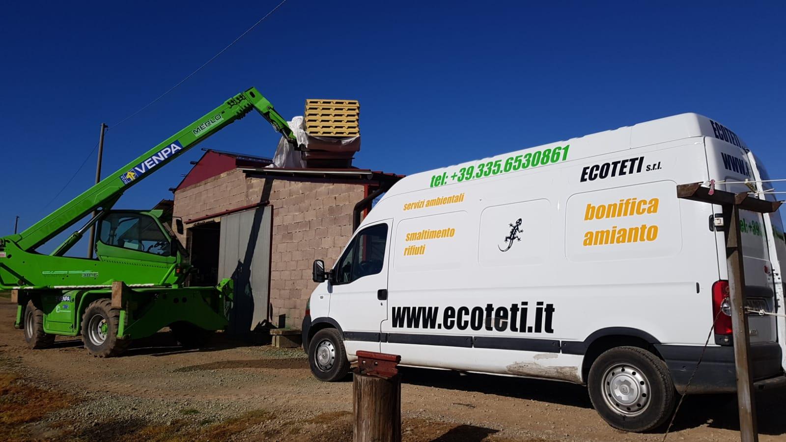 Azienda Agricola Novelli Marsiliana - Bonifica Amianto e ricopertura tetto prefabbricato