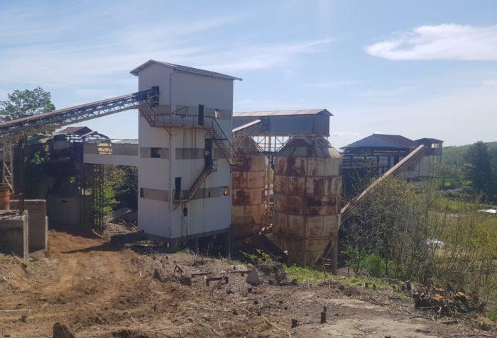"""Bonifica lastre eternit """"Parco Museo Minerario Abbadia San Salvatore"""" intervento di Ecoteti srl"""
